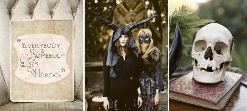 Everybody Is somebody elses weirdo dark halloween shoot 1