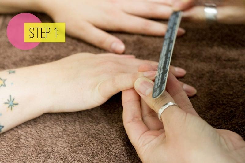 Nails Step 1