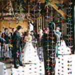 A Handmade Barn Wedding With a Thousand Origami Cranes – Hayley & Chris