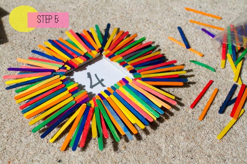 Table Number Lollipop Sticks-5