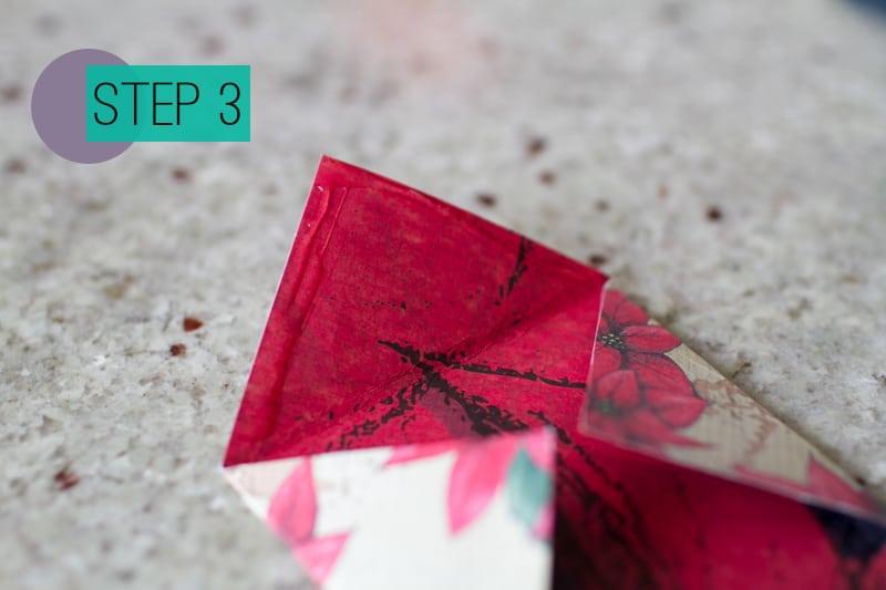 DIY How To Make A Christmas Advent Calendar with Envelopes-4