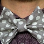 Wedding DIY: How To Make A No Sew Polka Dot Bow Tie