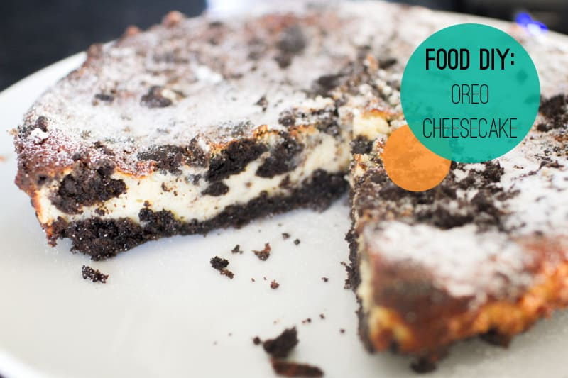 Food DIY Oreo Chessecake
