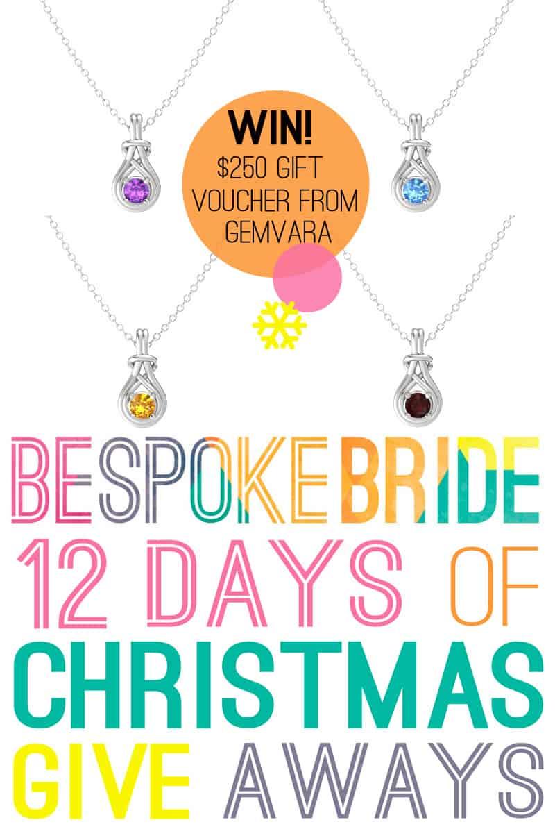 Win a $250 gift voucher from Gemvara