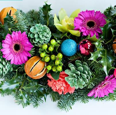 Christmas Diy How To Make A Vibrant Christmas Garland Bespoke