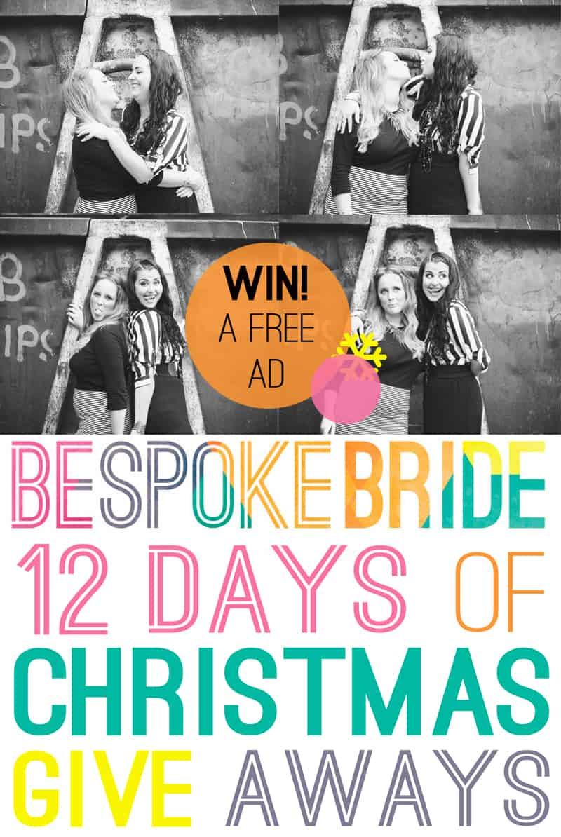 Win 3 months free advertising on Bespoke Bride
