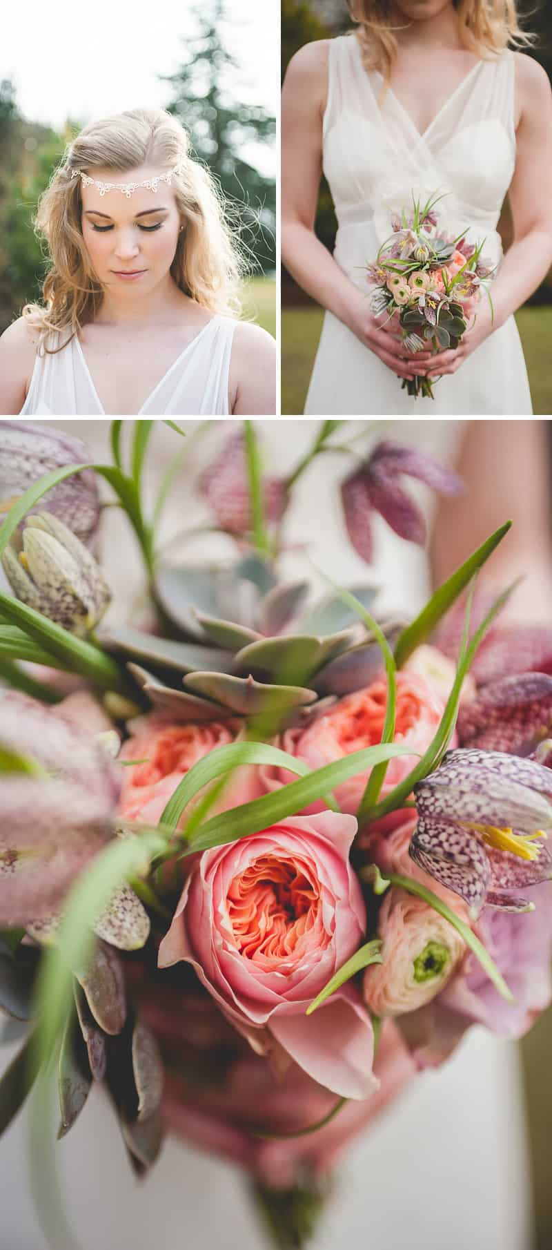 Rustic and bohemian styled shoot