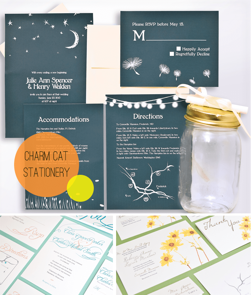 Charm Cat Stationery