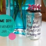Home DIY: How To Make A 2014 Memory Jar