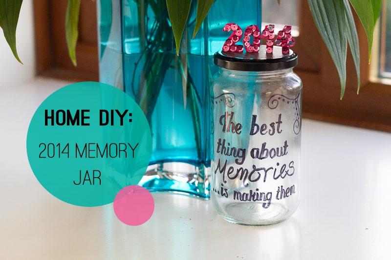 How To Make A 2014 Memory Jar Diy Bespoke Bride Wedding Blog