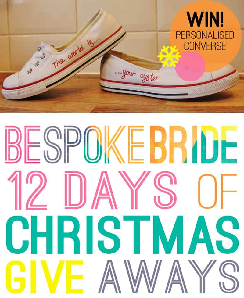 Personalised Converse from Stitches & Lace