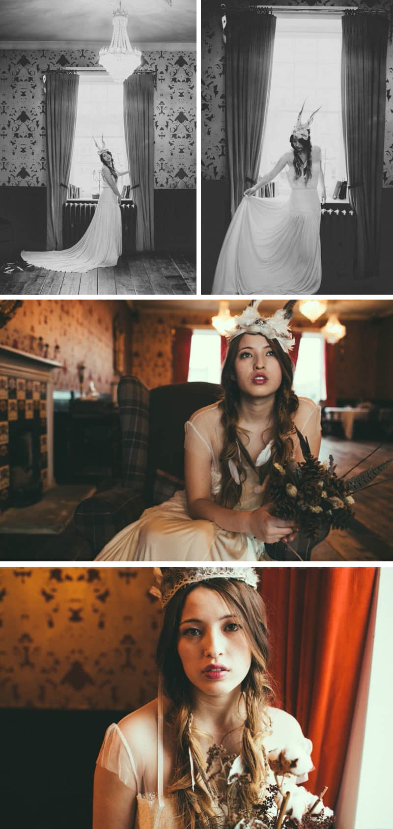 A Native American Bohemian Styled shoot