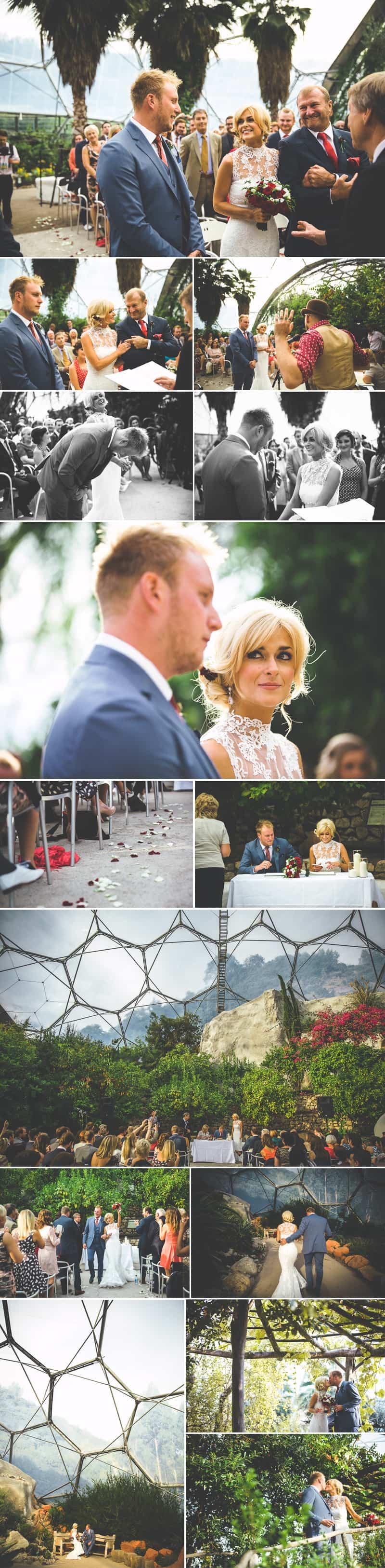 Glastonbury Eden Project Wedding Zip Lining Festival Themed 3