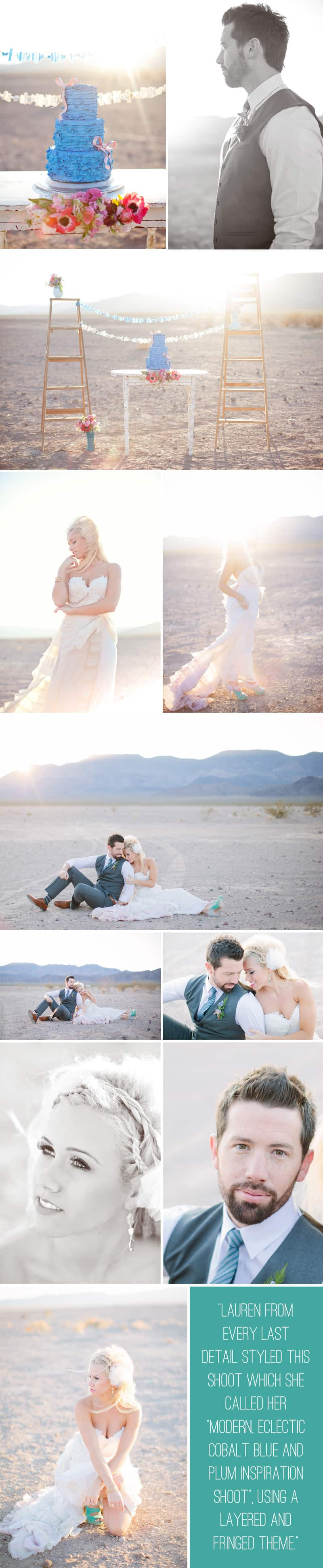 Las Vegas Styled Shoot Blue Plum Desert 4