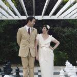 A DIY Dinosaur Wedding – Katherine & Grant
