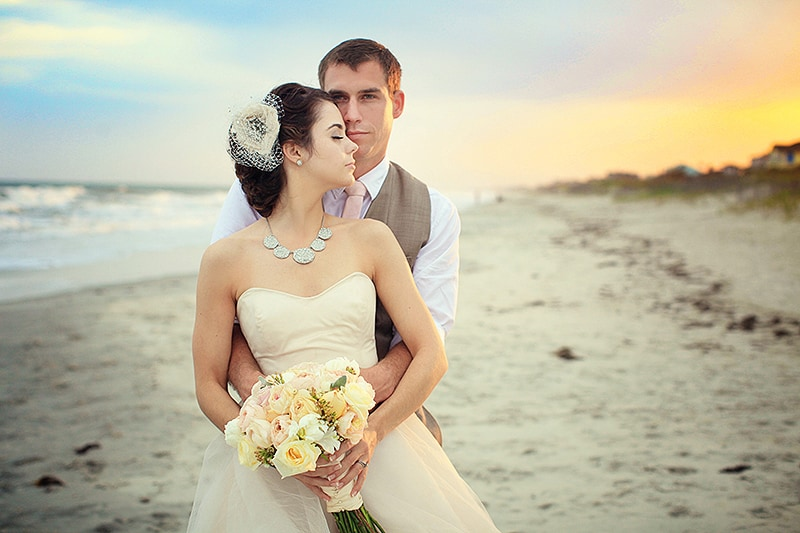 An Intimate Beach Wedding Featured Image