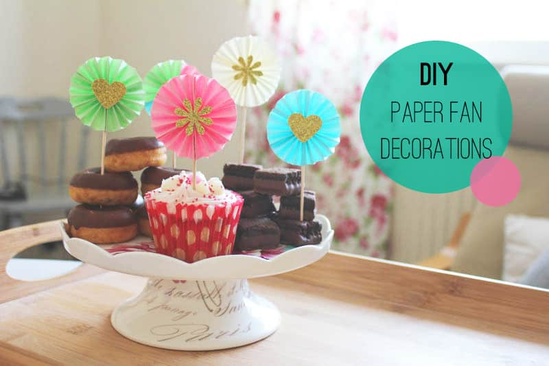 Paper Fan Decorations Diy