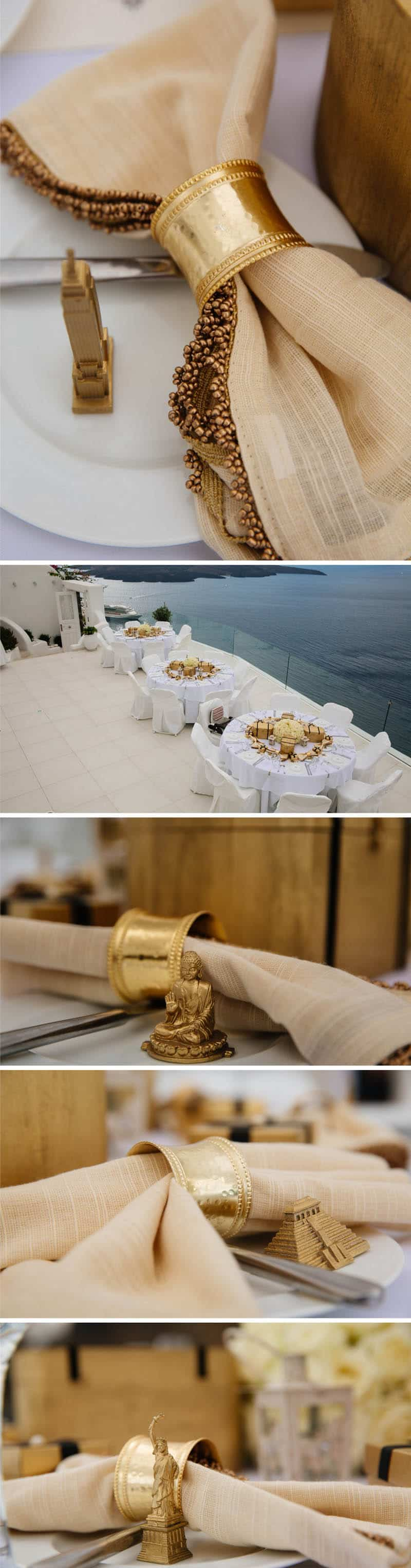 A Travel Themed Destination Wedding in Santorini 5
