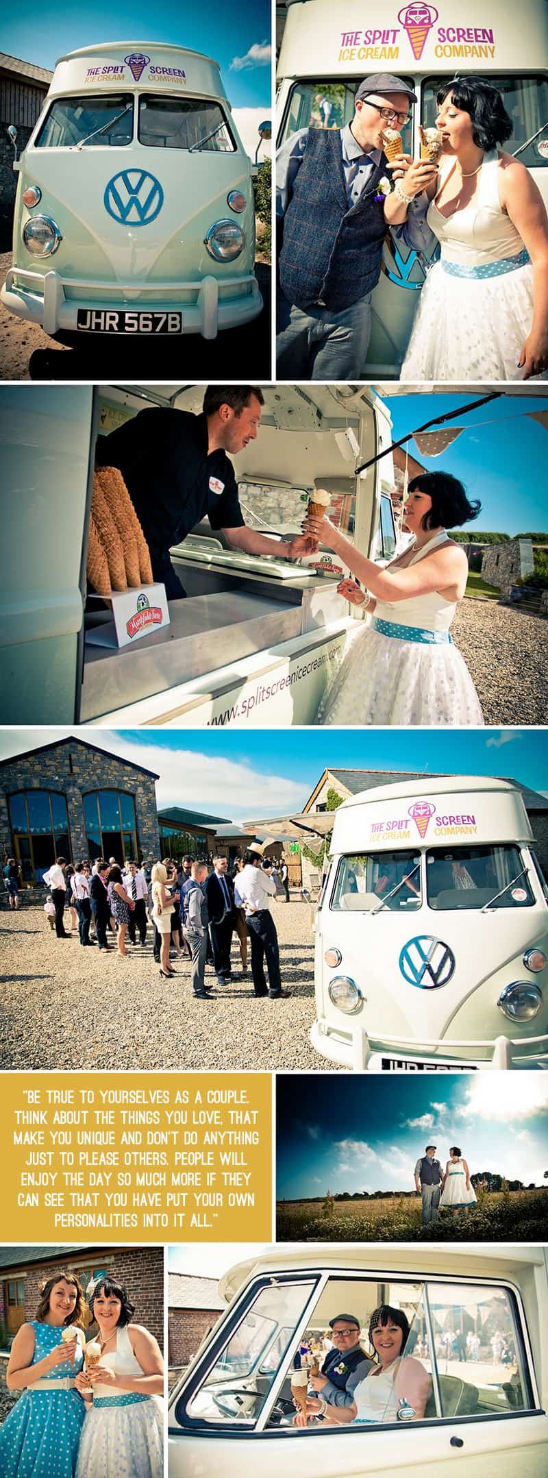 The Vintage Rock n Roll Wedding of Katy & Gordon 8