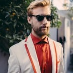 """Real People. Real Style"" – Zebra Music's Groom Couture Shoot by Liron Erel"