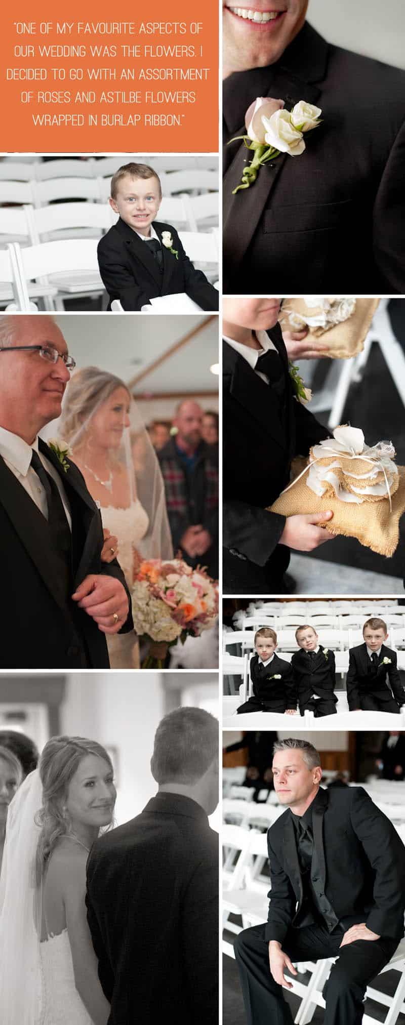 A Rustic Winter Wedding 4