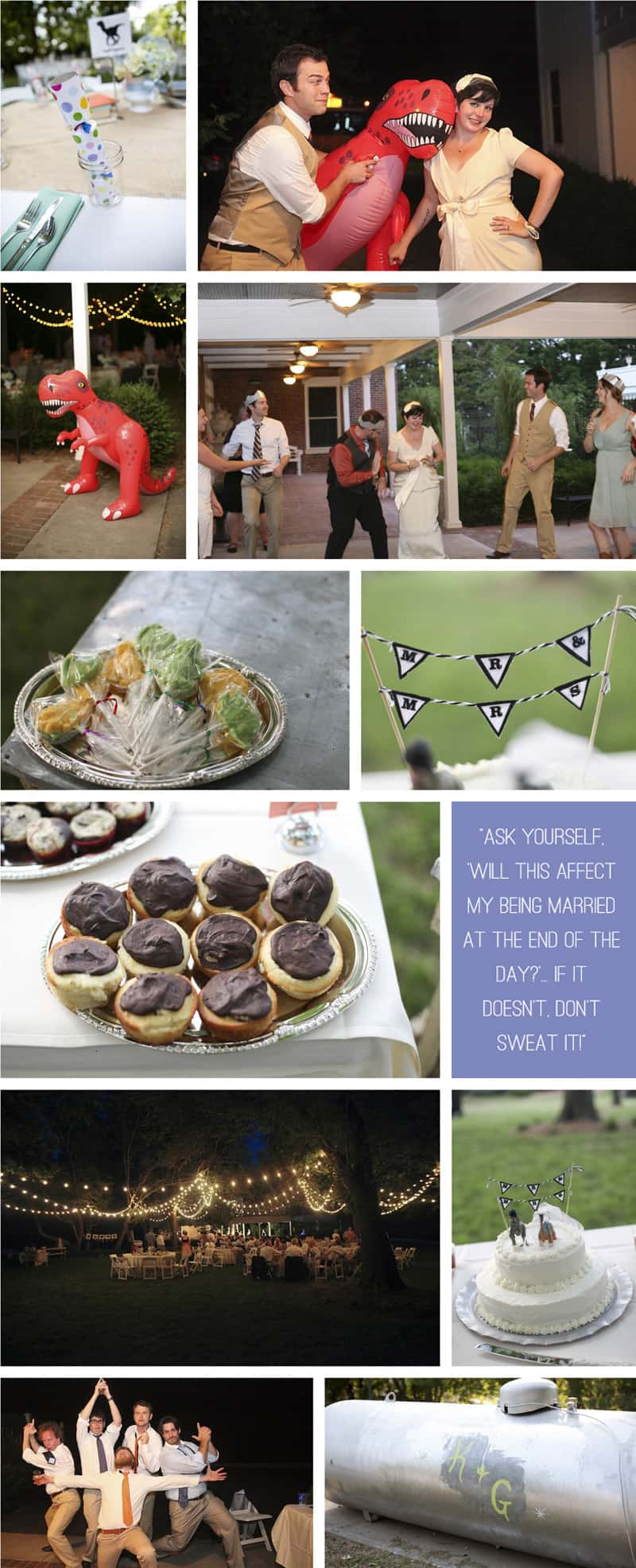 Dinosaur themed wedding - moondance photography 4