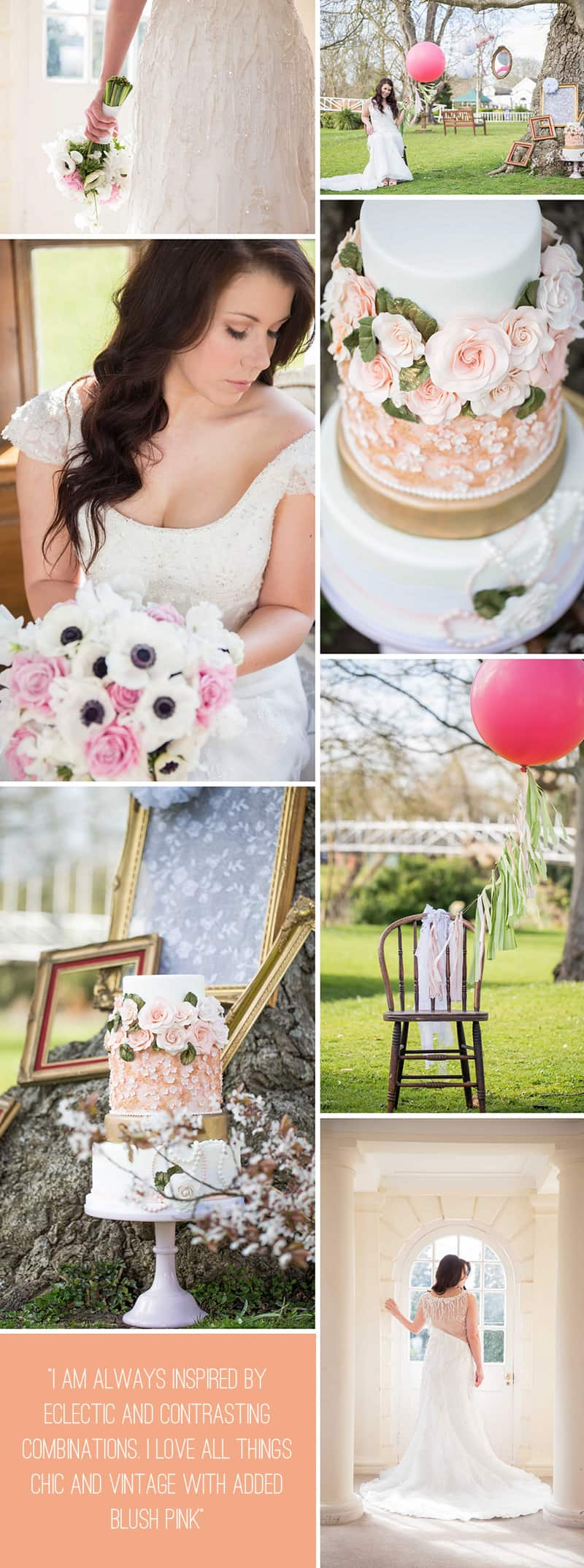BLUSH PINK SHABBY CHIC STYLED SHOOT