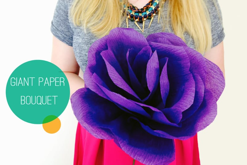 How to Make Giant Paper Roses Giant Paper Rose Main Pic i