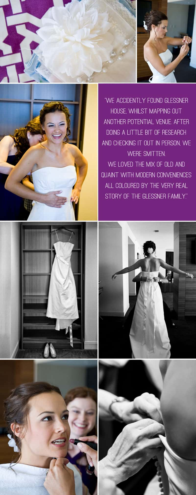 A Modern Wedding Dressed in Vintage Clothes 1