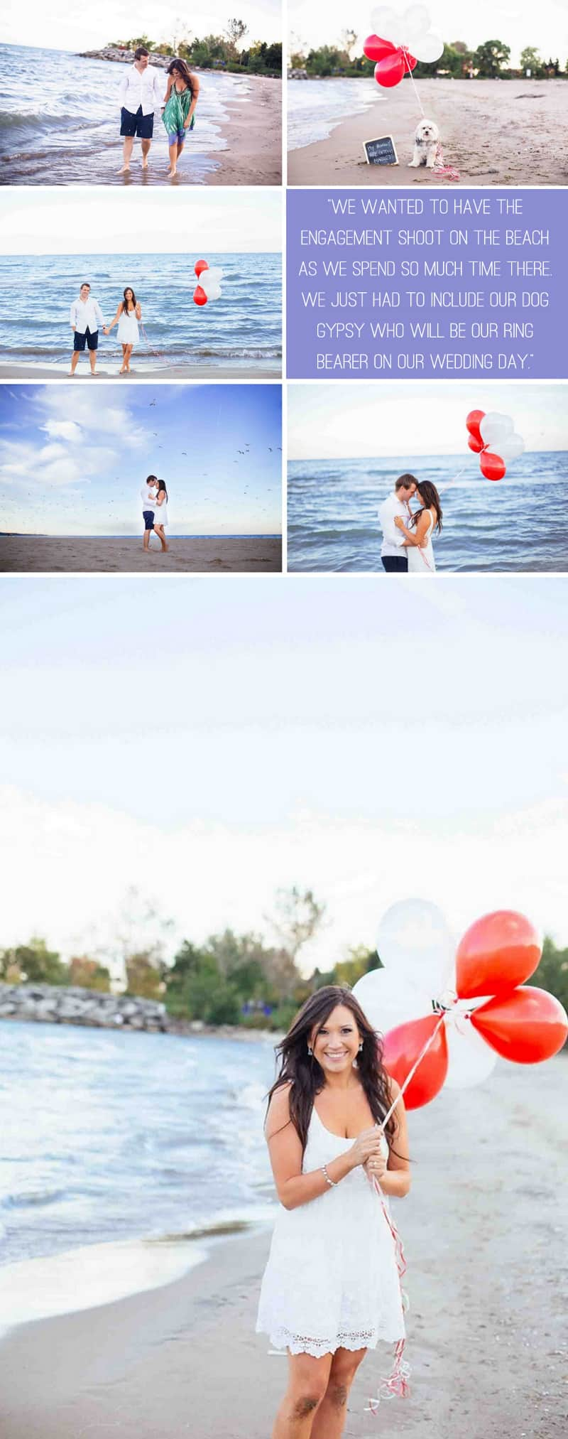 A Beautiful Beach Engagement 3