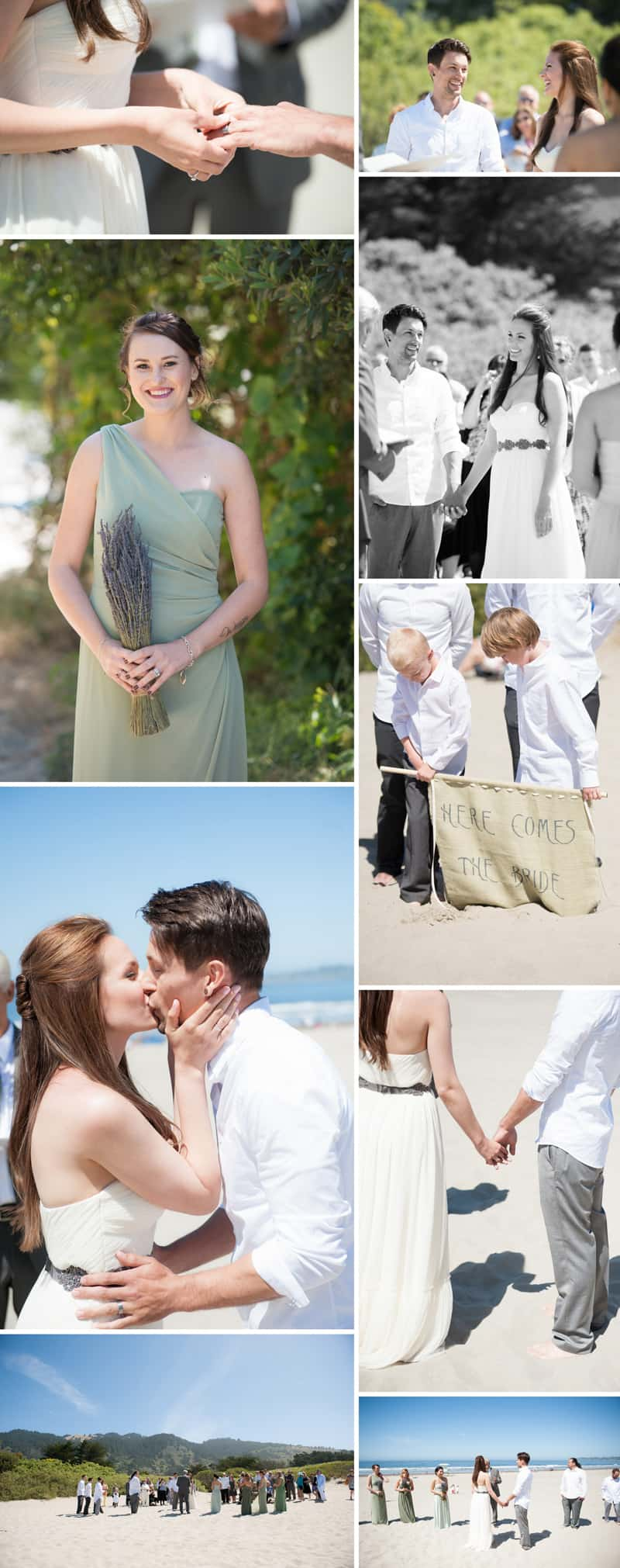 An Intimate Rustic Beach Wedding 2