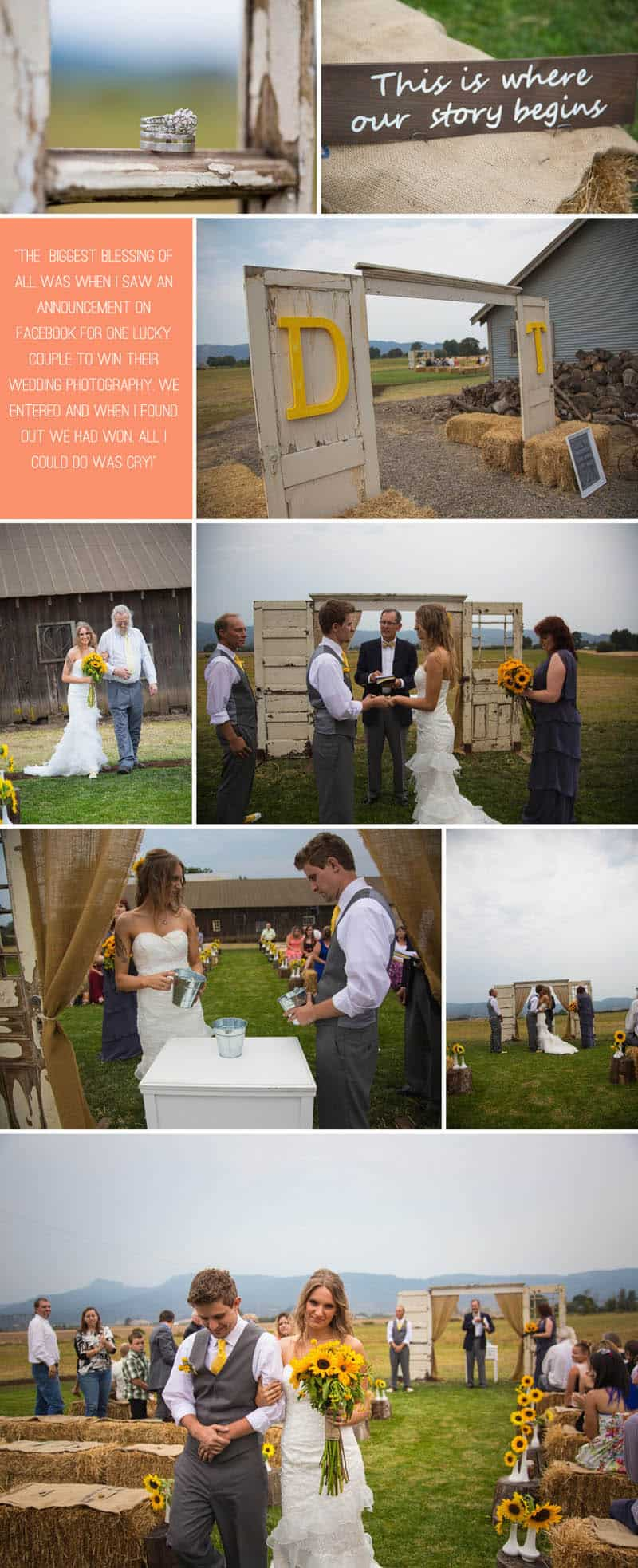 A Rustic Country Wedding for Just £1500 4