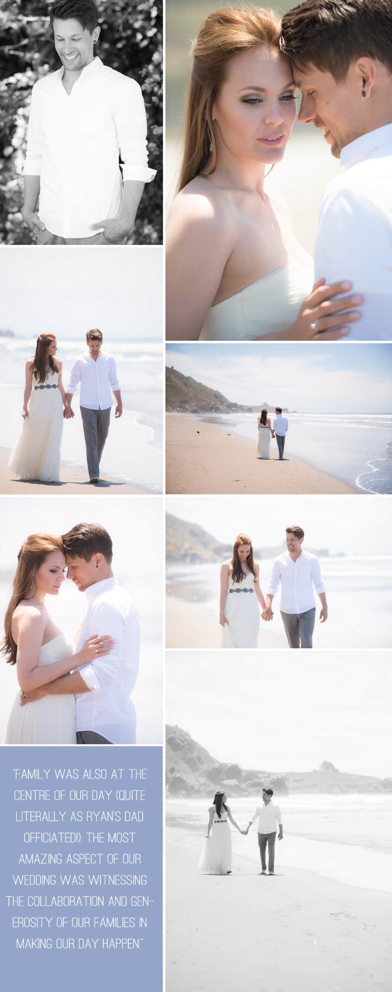 An Intimate Rustic Beach Wedding 4