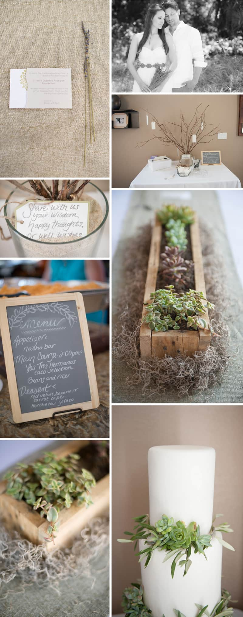 An Intimate Rustic Beach Wedding 5