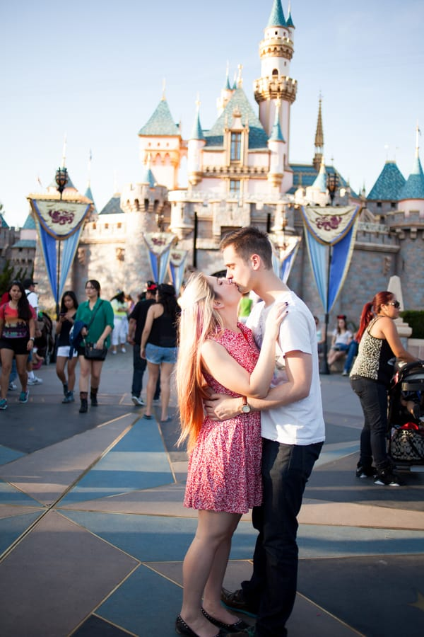A Disneyland Engagement Bespoke Bride Wedding Blog