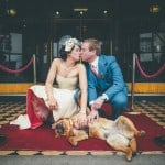 A 50's Inspired American Glamour Wedding to Rival Vegas: Charlie & Brent