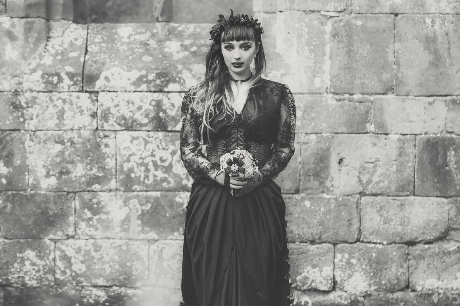Gothic Styled Shoot-21