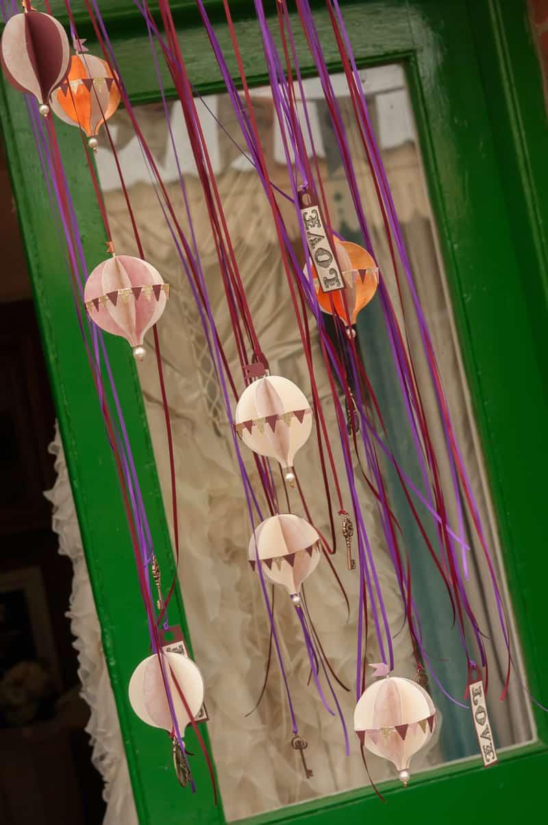 Steampunk Hot AIR Balloon garland