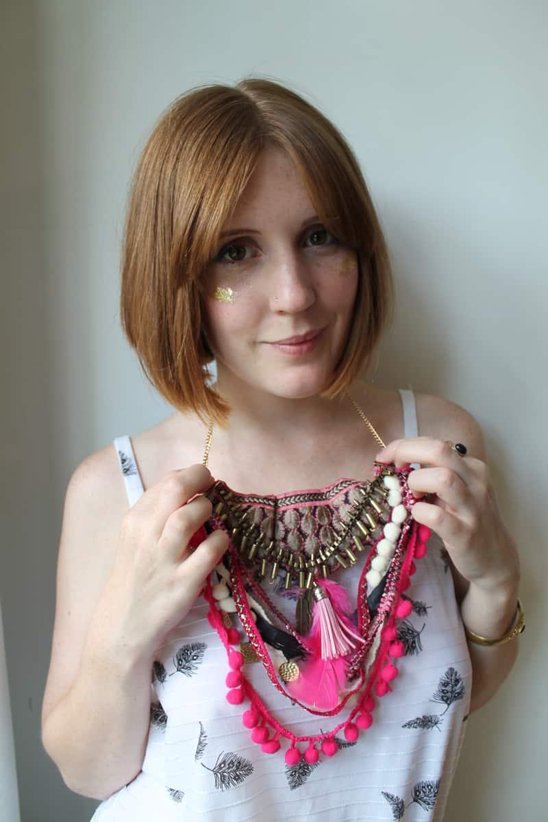 DIY Festival Inspired Necklace