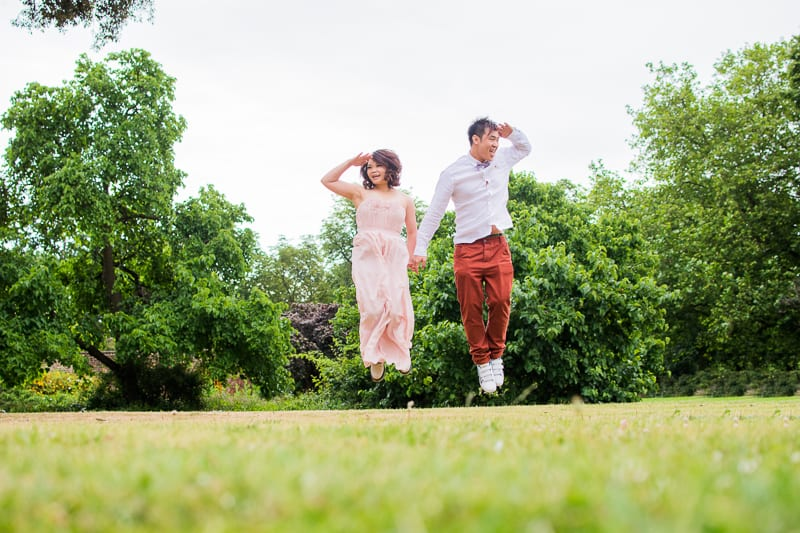 Cute Quirky Engagement Shoot Valentines Park-23