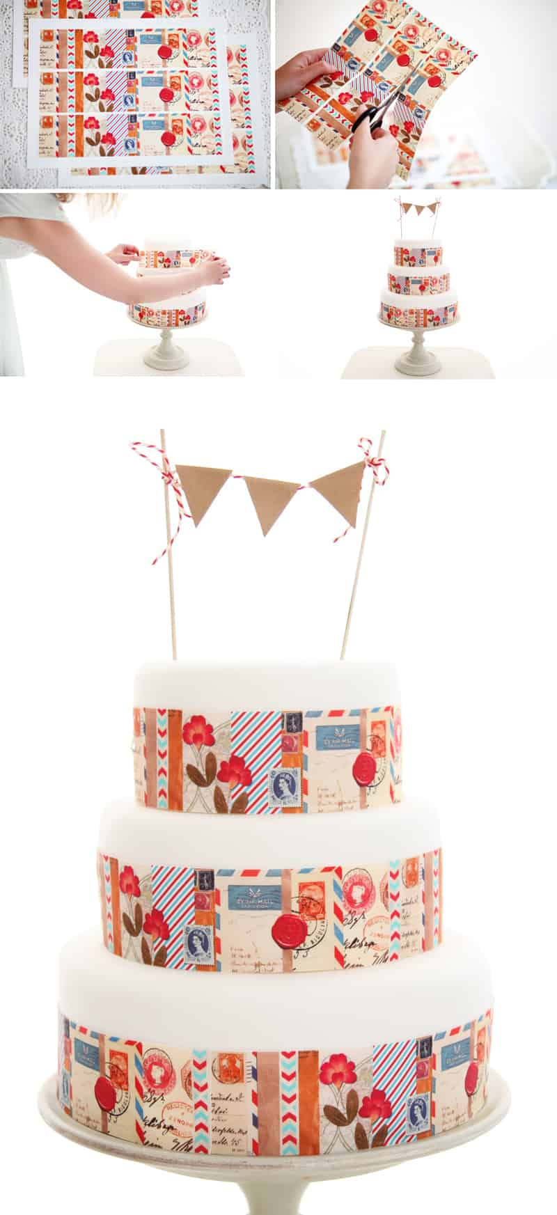 picture relating to Printable Cake Paper named Do it yourself Totally free Printable Edible Icing Paper! Cake style recommendations