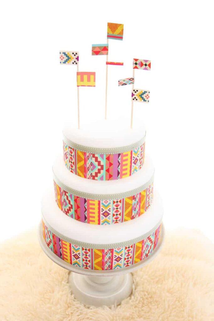 Slab Cake Decorating