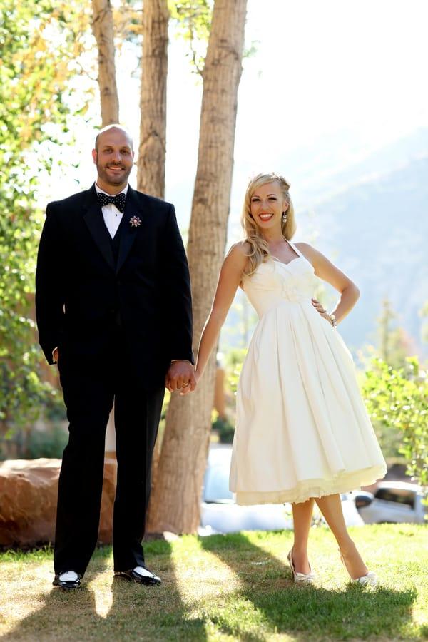 A Fun Loving Retro Themed Wedding Bespoke Bride Wedding Blog
