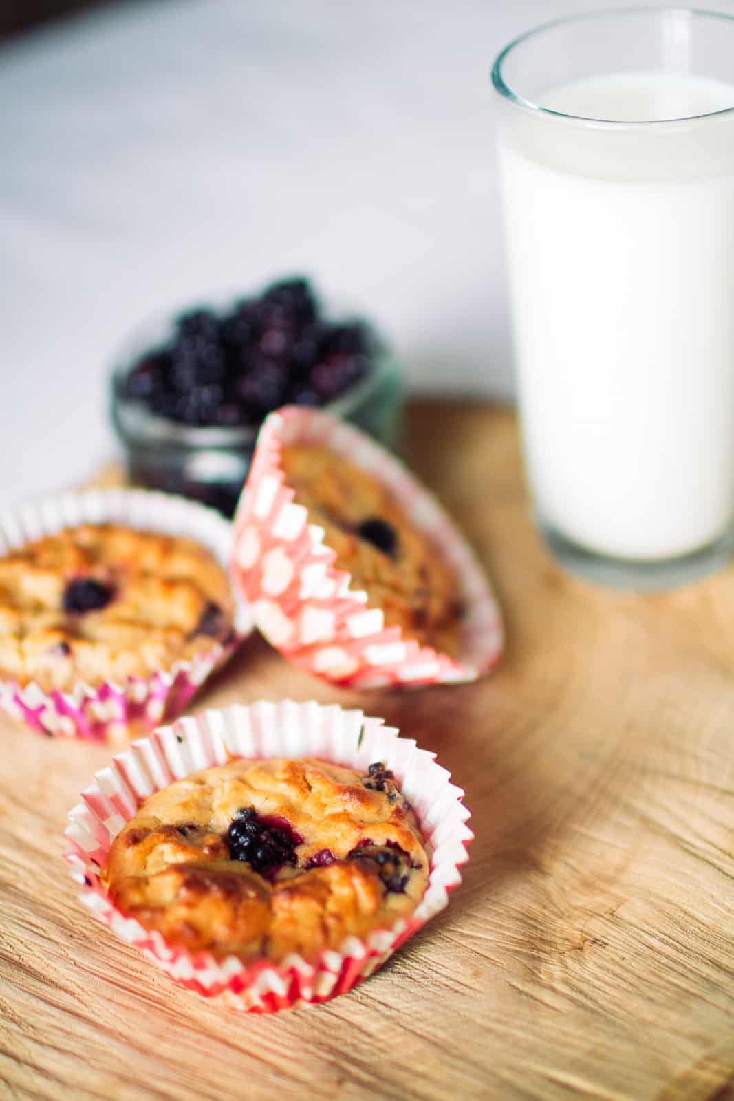 Apple Blueberry Muffins Recipe Autumn Food Ideas Wedding Favours-4