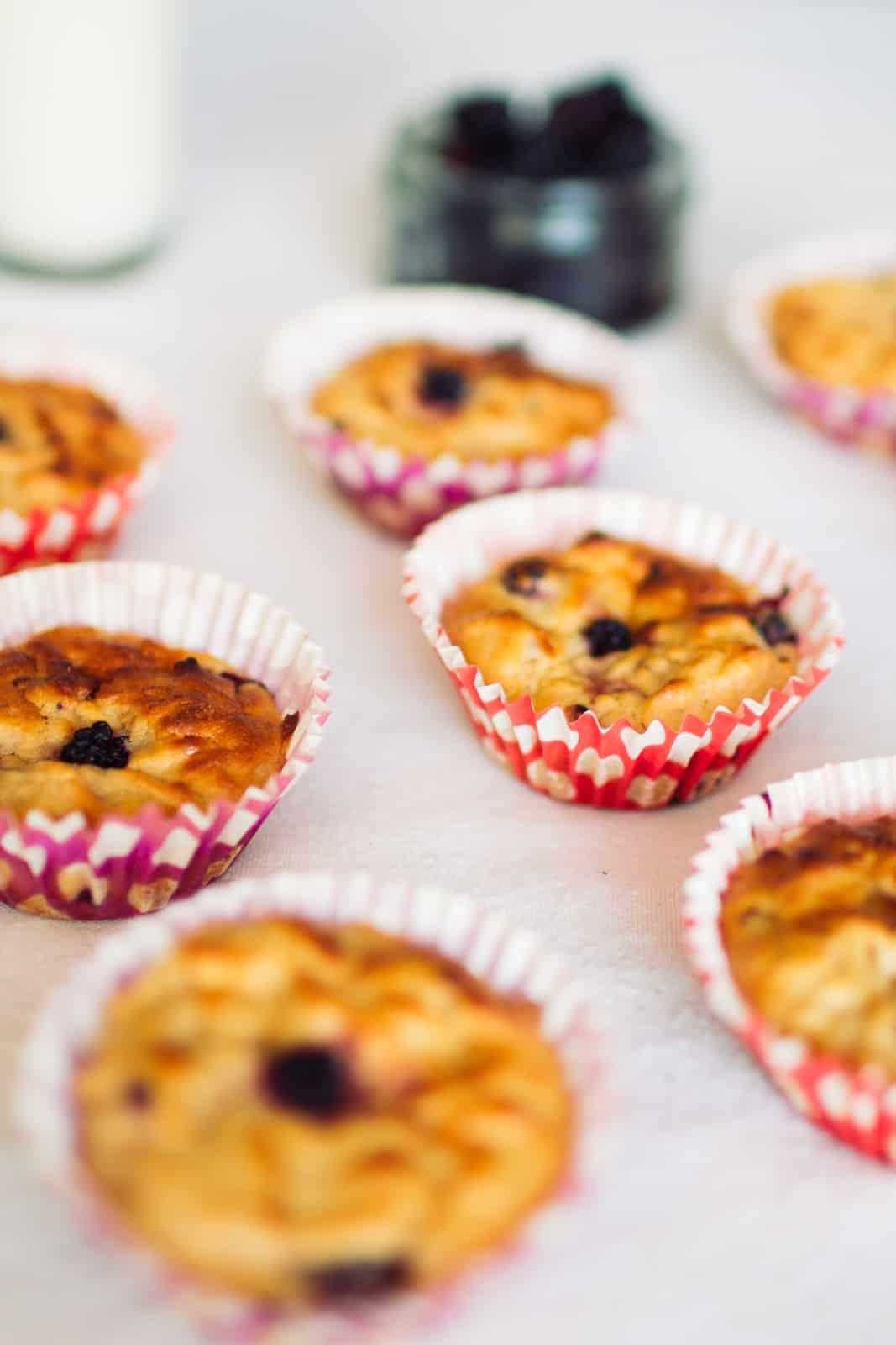 Apple Blueberry Muffins Recipe Autumn Food Ideas Wedding Favours-8