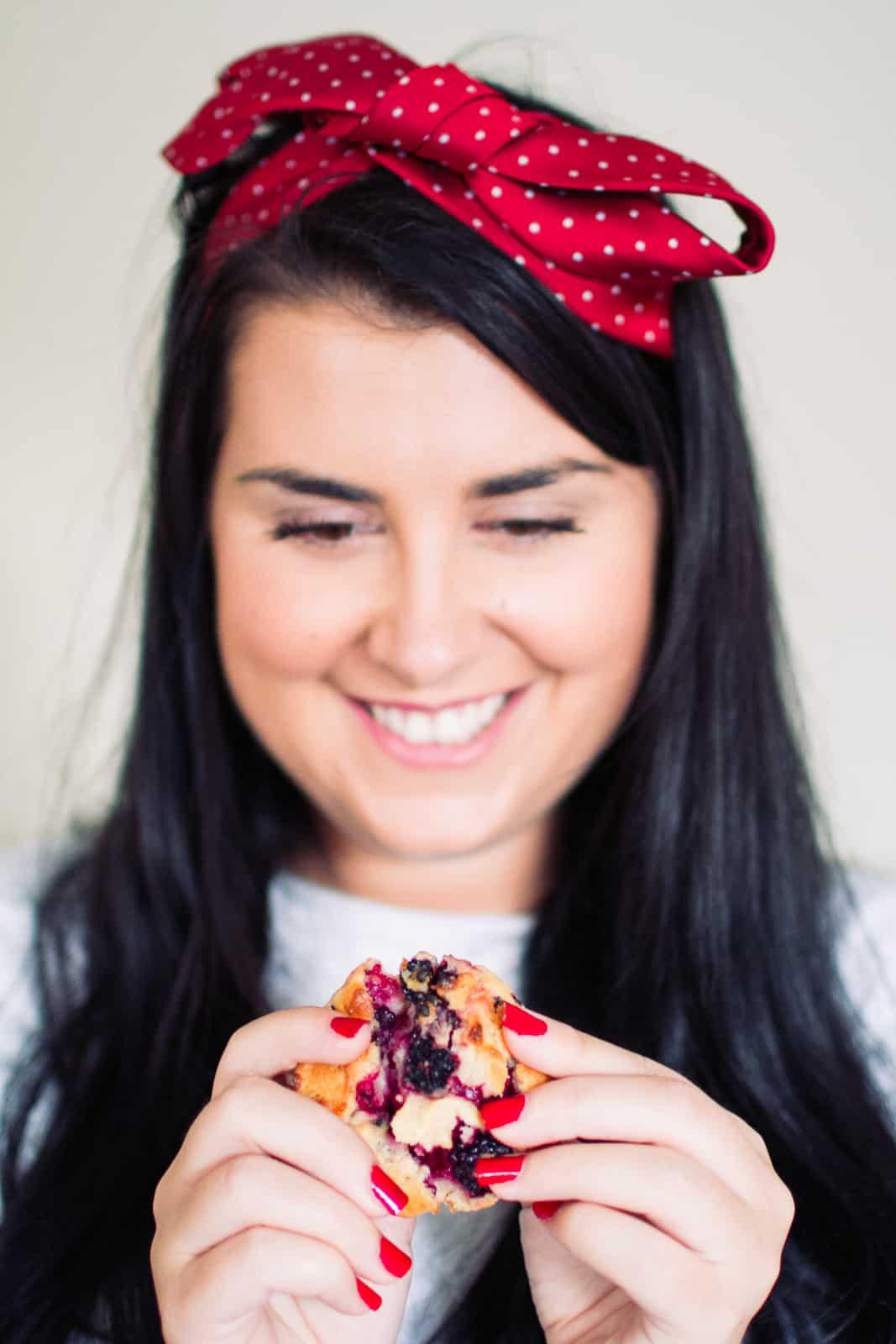 Apple Blueberry Muffins Recipe Autumn Food Ideas Wedding Favours-9