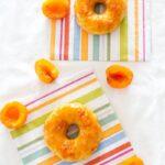 DIY Apricot Donut Glaze