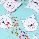 Cute Kitty Cat Confetti Pouches With Free Downloadable PDF!