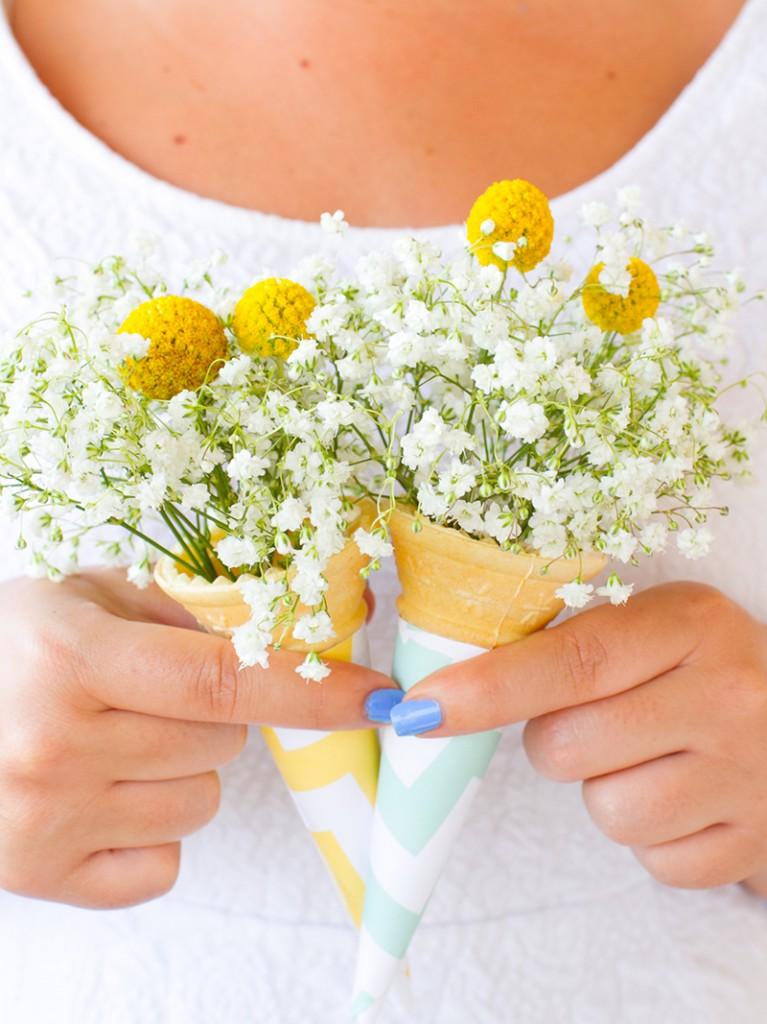 DIY-ice-cream-cone-bouquet-DIY-wedding-blog