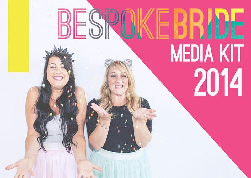 Front Page Bespoke Bride MEdia Kit